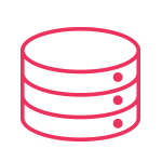 web hosting icon pink