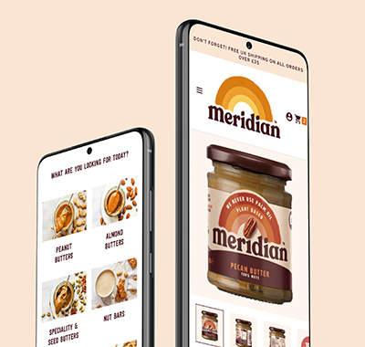 A new website for the tastiest natural nut butter brand