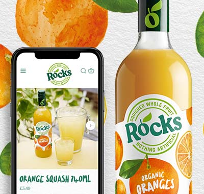thumbnail for Rocks Drinks project