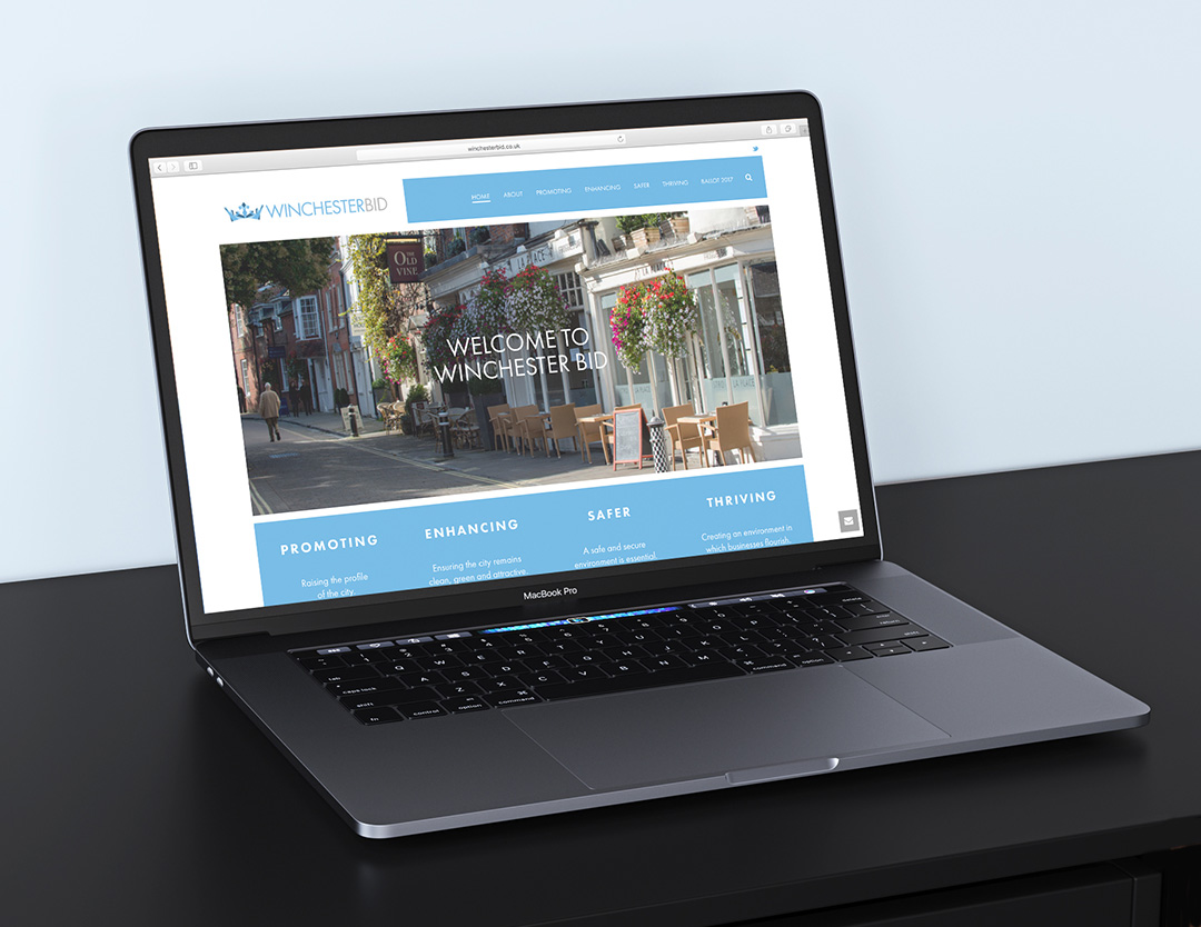 Winchester BID website