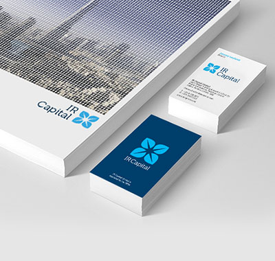 Visual Identity for Financial Services company IR Capital