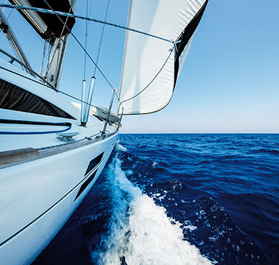 Magento e-commerce store for boat interior specialists