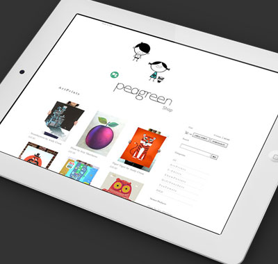Bespoke e-commerce website for design consultancy