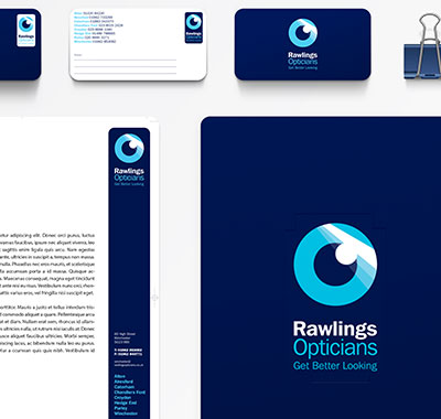 thumbnail for Rawlings Opticians project